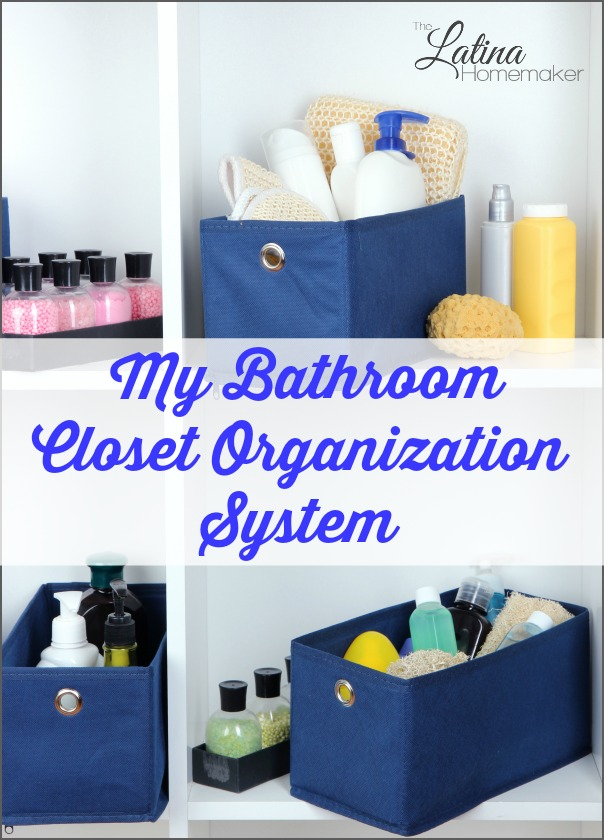 Bathroom Closet Organization System. A video to give you a quick tour of my bathroom closet space after I purged and organized with inexpensive bins.