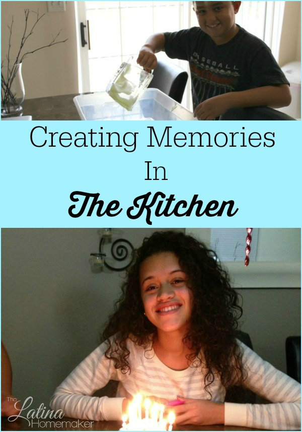 Creating Memories In The Kitchen. A look at how our family has created memories in the hub of our home, the kitchen.