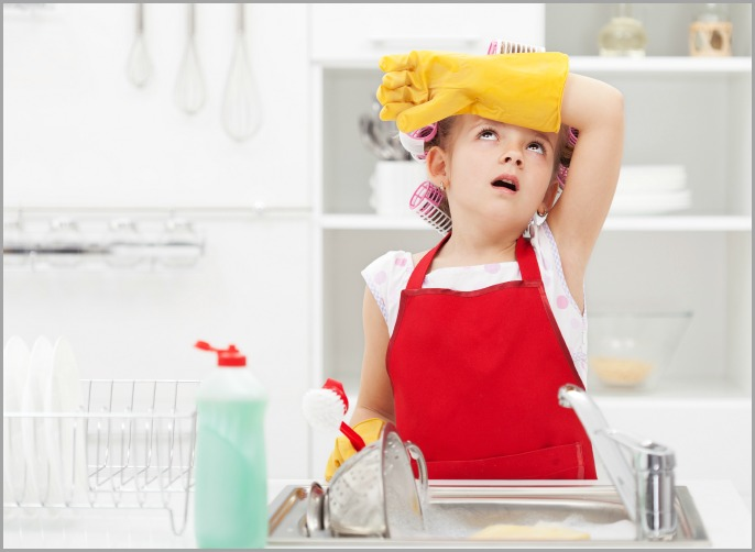 How To Motivate Your Kids To Clean-Five simple tips to help you motivate your kids to clean without having to bribe or force them to do it.