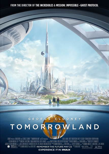 A look at Disney's Tomorrowland new movie trailer featuring George Clooney.