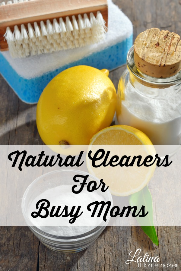 Natural Cleaners For Busy Moms. Everyday household products that can be used to clean your home more effectively and will also cost you less money.