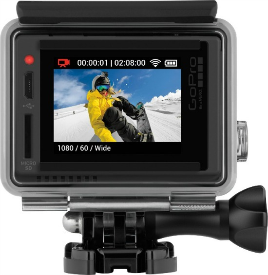 GoPro This Father's Day! A look at the new GoPro HERO + LCD camera. Plus two great offers from Best Buy.