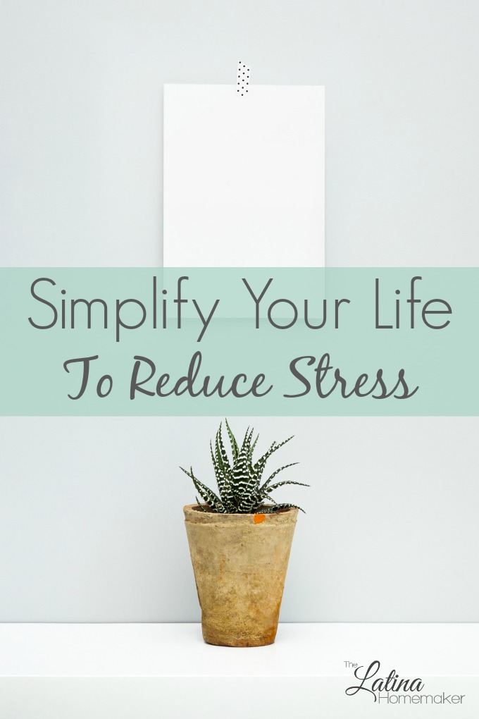 Simplify Your Life To Reduce Stress. Living a simpler life requires time and commitment. But the freedom that it brings, is worth the effort. Check out these five tips to help you in your journey.