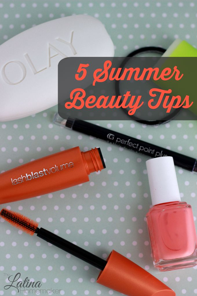 5 Summer Beauty Tips + Giveaway! Five beauty tips for the busy summer days plus a Walmart gift card giveaway!