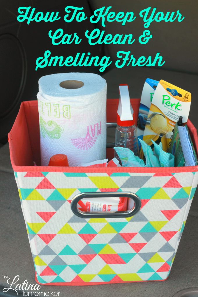How To Keep Your Car Clean and Smelling Fresh. Simple tips that will help you keep your car clean and smelling fresh!