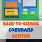 Back-To-School Command Center