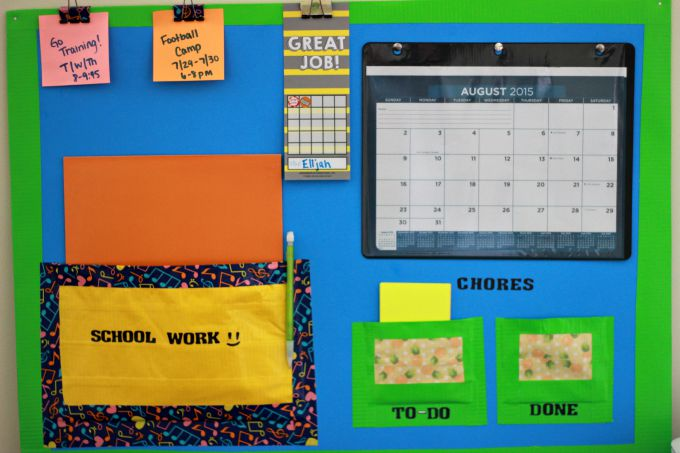 back-to-school-command-center-project