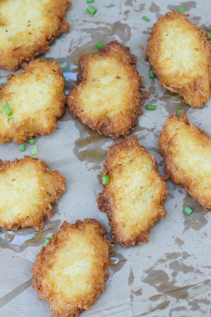 Yuca Fritters-A delicious and simple recipe that makes a great snack, appetizer or a second side dish for any meal! A staple in many Latino homes!