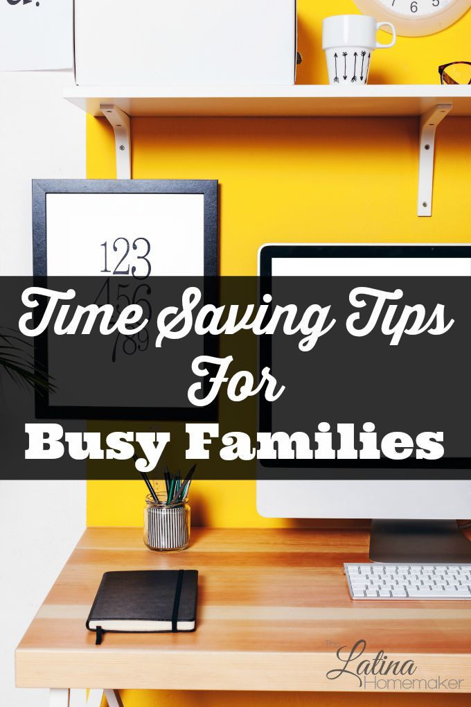 Is your family always on the go? Are you overwhelmed with your long to-do list? Here I share simple time saving tips for families that are currently in a busy season and find themselves overwhelmed.