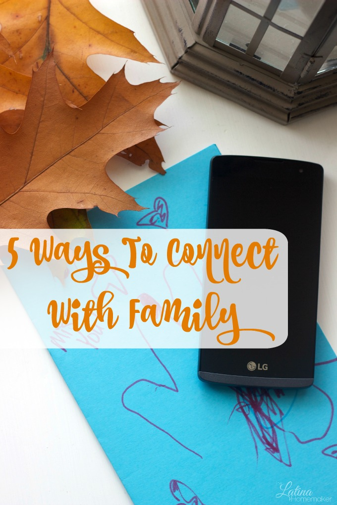 5 Ways To Connect With Family. Five simple ways to stay connected with family regardless of distance or time.