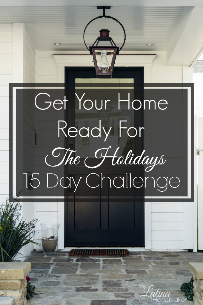 Get Your Home Ready For The Holidays-Day 5 {15 Day Challenge}-Get your home ready for the holiday season with this 15 day challenge! #HolidayReadyChallenge