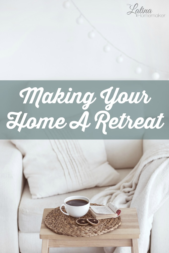 Making your home a retreat doesn't require a lot of money or time. A few simple changes to your home and attitude can give you a space you'll love and enjoy.
