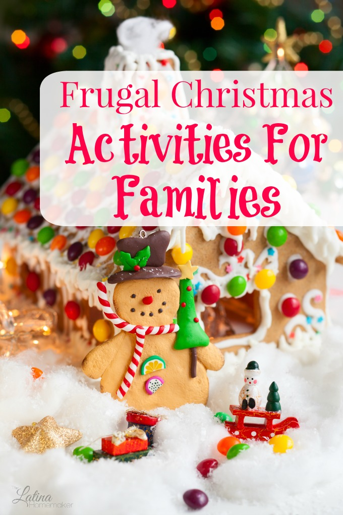 10 Frugal Christmas Activities For Families-A list of free and inexpensive family activities that your family can enjoy during the holiday season. Great ideas!