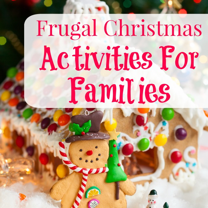 10 Frugal Christmas Activities For Families-A list of free or inexpensive family activities that your family can enjoy during the holiday season. Great ideas!