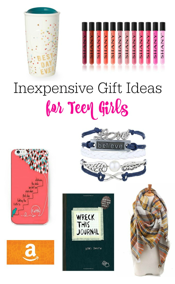 Inexpensive Gift Ideas For Teen Girls-Fun and inexpensive gift ideas for teen girls. Buy them something they'll love without busting your budget. Lots of great gift ideas!