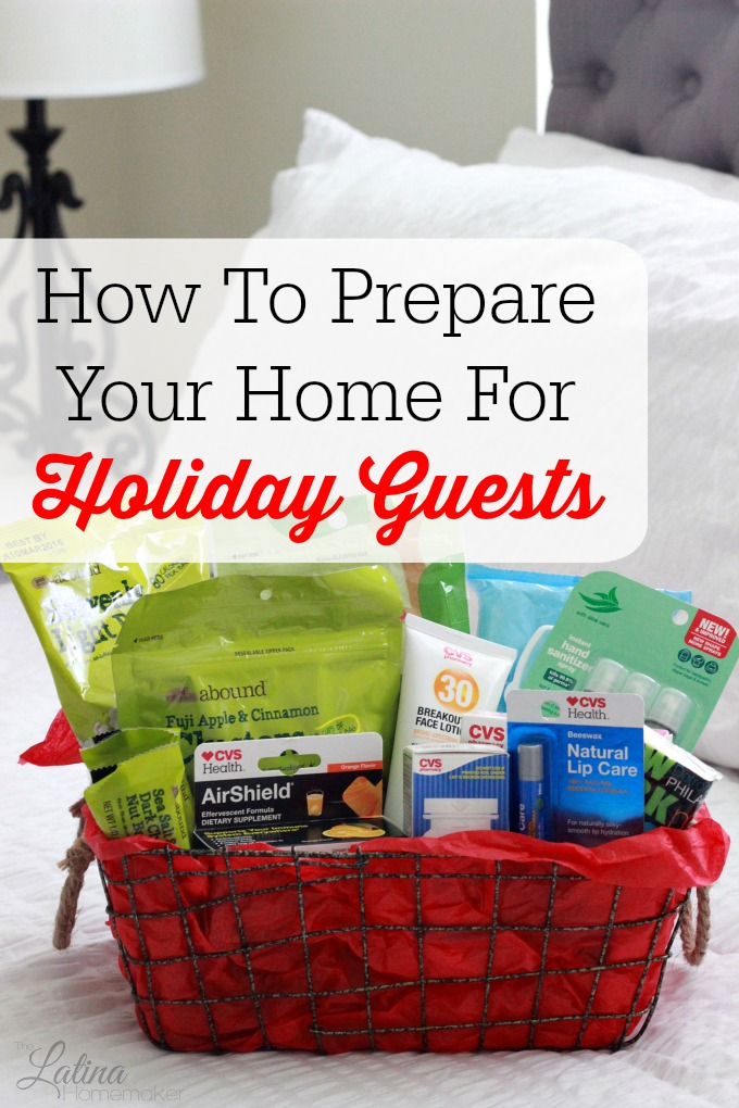 How To Prepare Your Home For Holiday Guests. Simple tips to help you prepare your home for holiday guests.