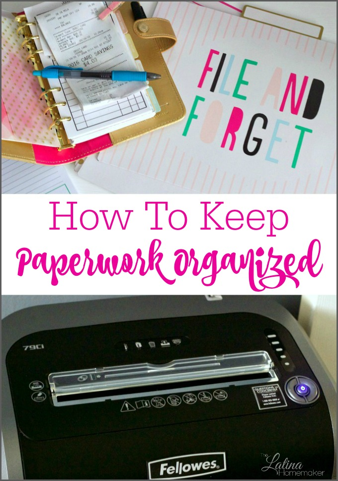 help with organizing paperwork Here's some great tips to organizing those papers  and there's even a free  printable chart to help us know how long to keep our papers.