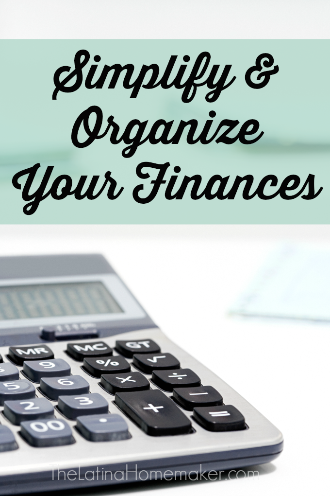 Simplify and Organize Your Finances-Simple steps you should take to get your finances back on track and organized. Includes links to free budget worksheets and apps!