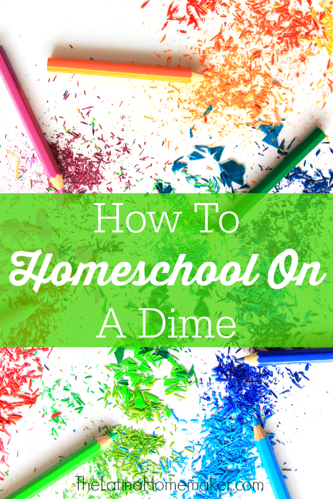 How To Homeschool On A Dime-Want to homeschool, but not sure you can afford to? Find out how to save money and lower your expenses by homeschooling on a dime!