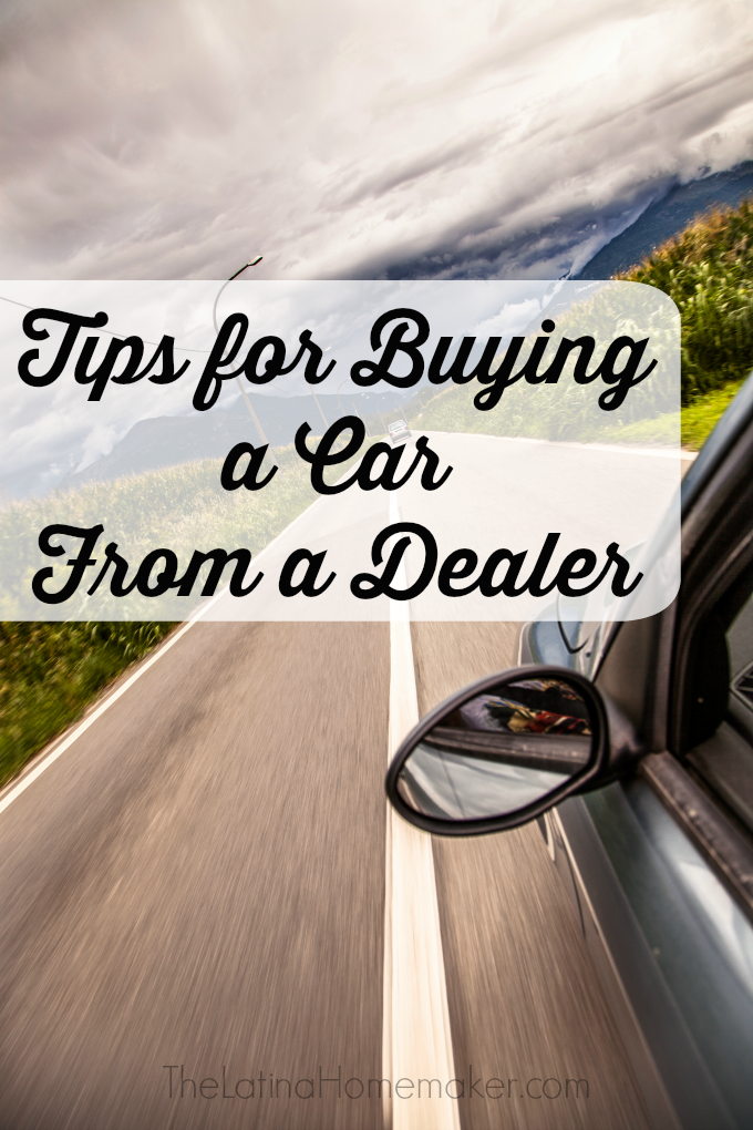 Tips for Buying a Car From a Dealer. Buying a car from a dealership? Check out these tips and tricks to help you save money on your next car purchase!