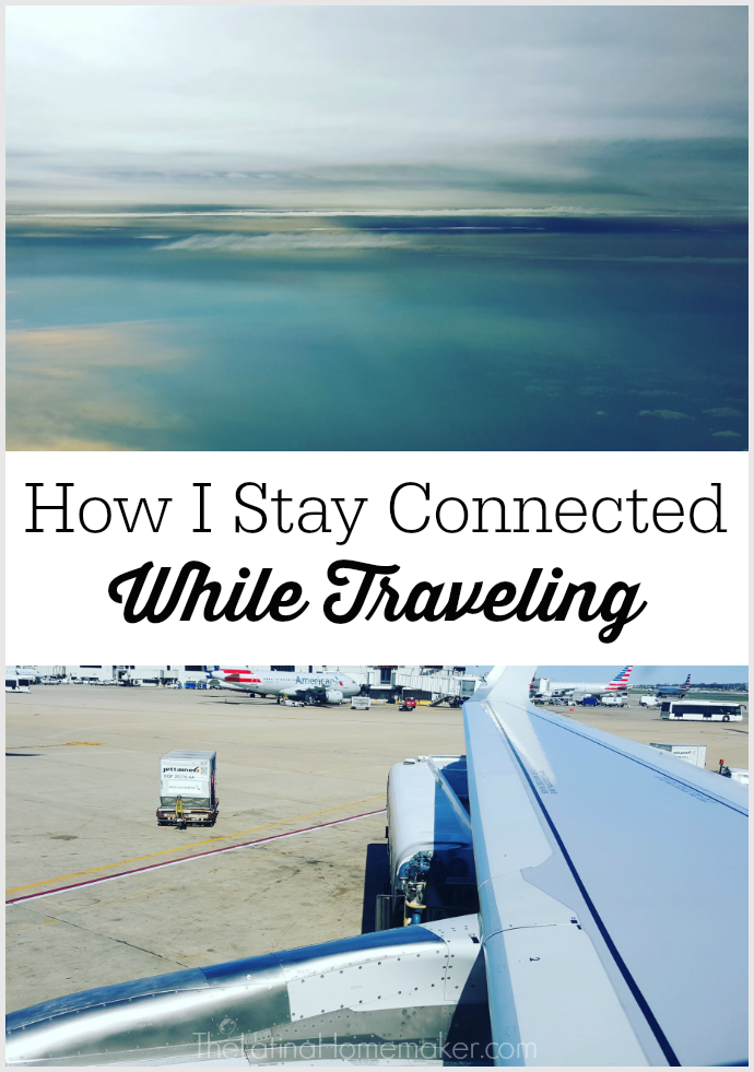 How I Stay Connected While Traveling. Sharing how technology enables me to run my business while I'm on the road.