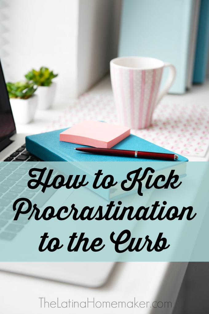 How to Kick Procrastination to the Curb . Are you a procrastinator? If you find yourself always scrambling at the last minute, you need to make some changes. Here's a few simple steps that might help you kick your procrastination to the curb.