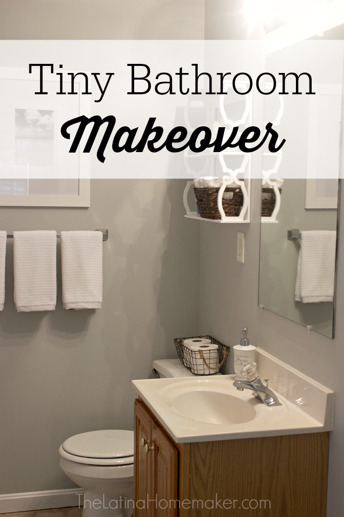 Tiny Bathroom Makeover - Tiny bathroom makeover
