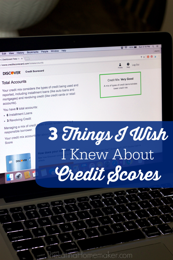 3 Things I Wish I Knew About Credit Scores-Do you know what your credit score is? I thought I knew mine, until I was denied credit due to a low credit score. Find out why you should check your credit score regularly.