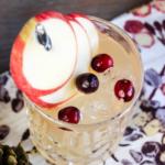 Apple Rhubarb Mocktail