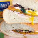 Turkey, Egg and Sweet Plantain Sandwich