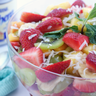 Fruit Salad with Sweet Citrus Dressing