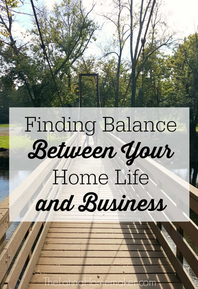 Finding Balance Between Your Home Life and Business. In honor of National Small Business Week, I want to share how I finally found balance between my home life and business. I've learned these strategies over the years through a lot of trial and error. I hope they encourage you to put yourself first as you crush your goals and continue on your entrepreneurial journey.