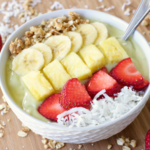 Pineapple Avocado Smoothie Bowl
