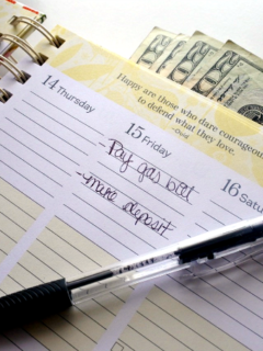 how to save money when barely surviving