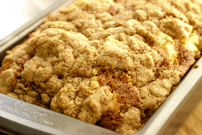 Cream Cheese Streusel Pumpkin Bread – A delicious and flavorful PumpkinBread that's topped off with a cream cheese streusel for the ultimate fall treat. This recipe is a must try!