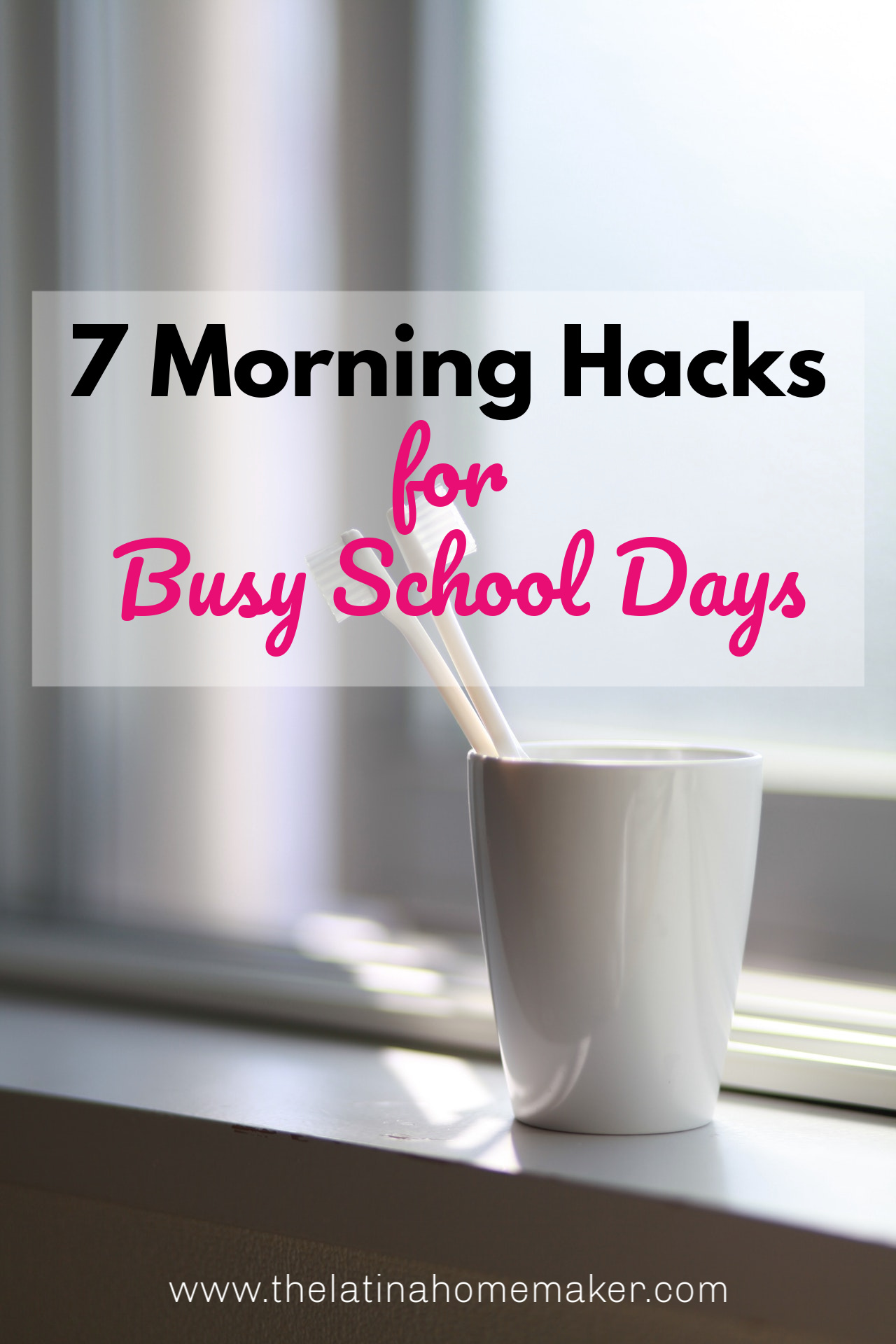 No more stressing on school days! Easy hacks to help you eliminate the busy morning rush on while keeping your kids on track!
