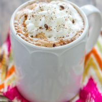 Slow Cooker Mexican Hot Chocolate - Sprinkle Some Sugar
