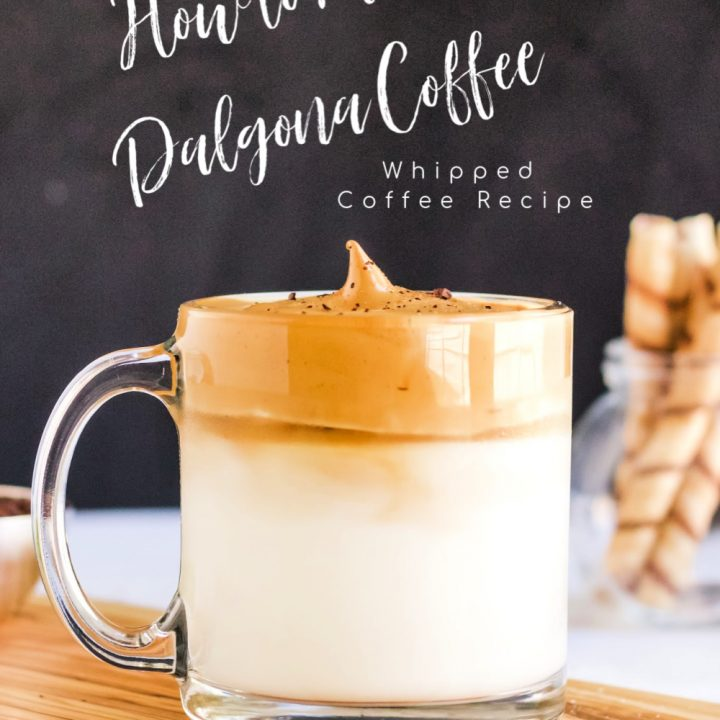 Dalgona Coffee Recipe – How To Make Dalgona Coffee