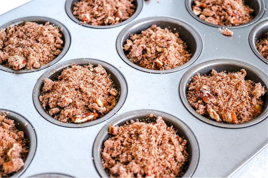 pecan streusel topping